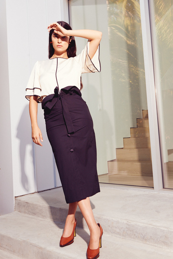 Kamperett Lazar Skirt in Black