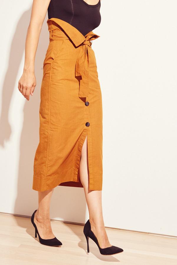 Kamperett Lazar Skirt in Amber