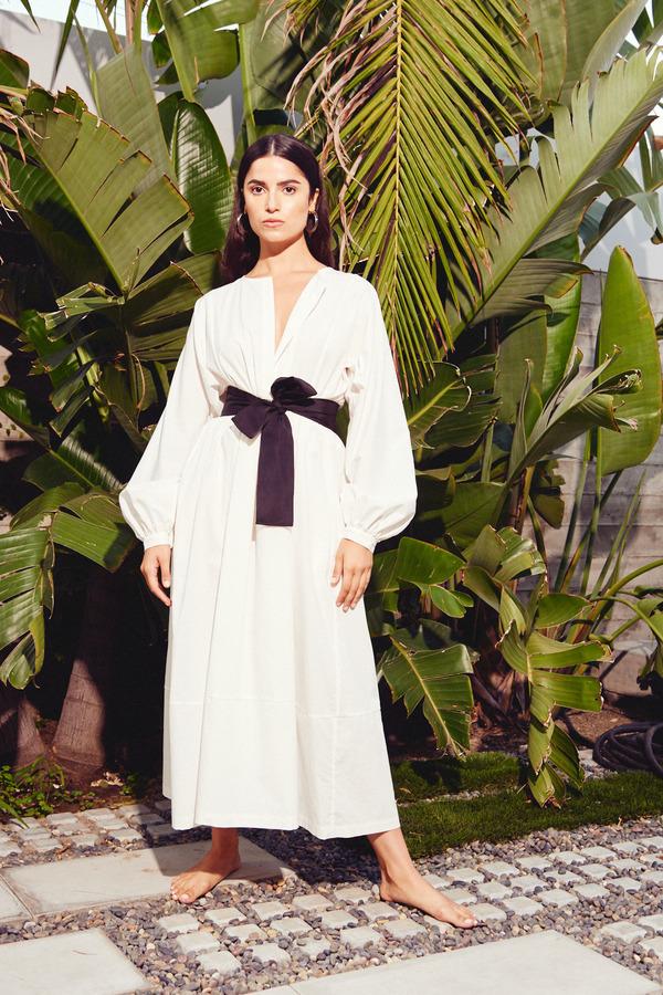 Kamperett Cassatt Dress in White