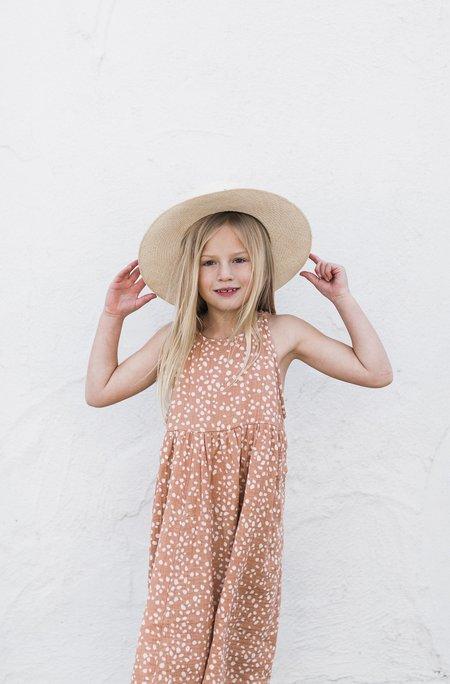 Kids Rylee & Cru ZOE DRESS - PEBBLE PRINT