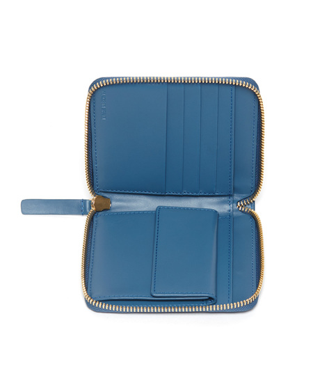 The Stowe Square Wallet in Marine