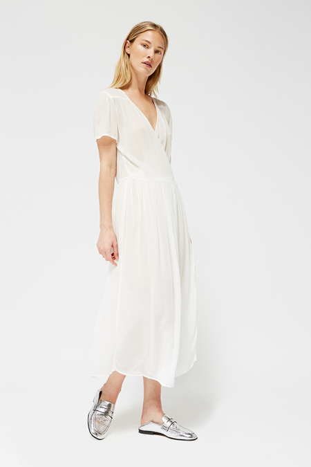 Lacausa Pantry Dress in Whitewash