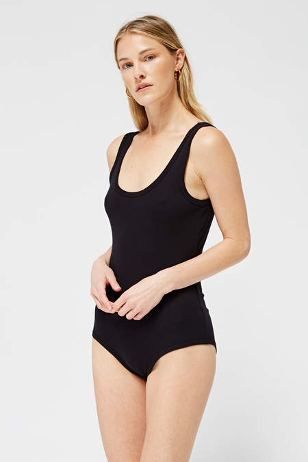 Lacausa Vida Bodysuit in Tar