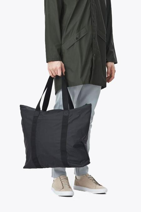 Rains Tote Bag - Black