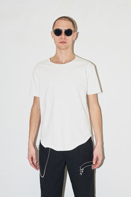 Assembly New York Terry Textured T-Shirt - White