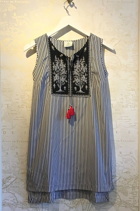 Holy Caftan Anemone Striped Tunic/Dress