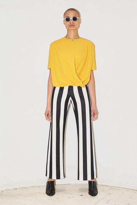 Assembly New York Stripe Neoprene Simple Pant