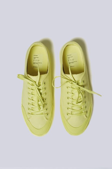 unisex Erik Schedin Canvas Sneaker - Yellow