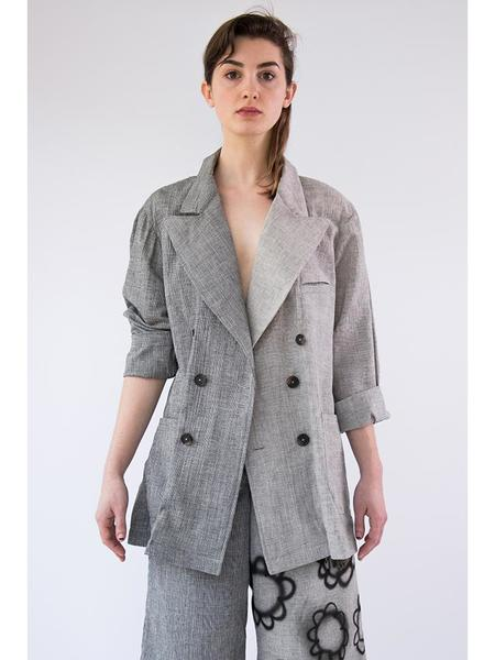 Alexa Stark Two Pattern Suit Jacket