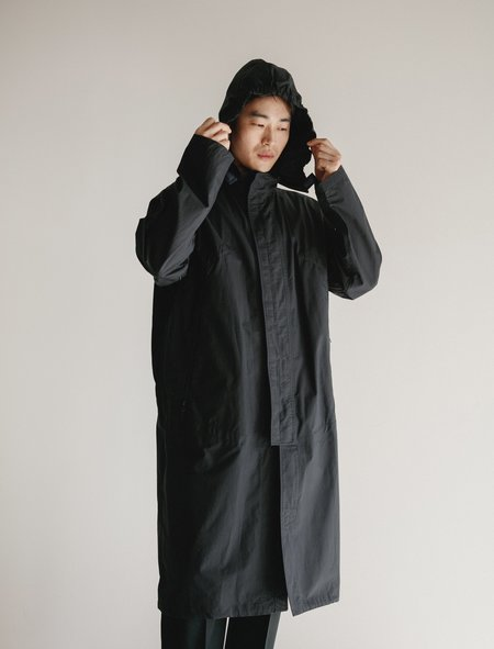 Lemaire Technical Parka - Midnight