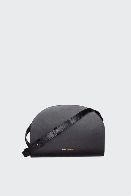 Royal Republiq Galax Curve Evening Bag - Black