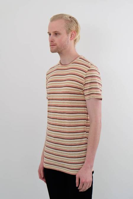 100% Yarn Dyed Hemp Tee