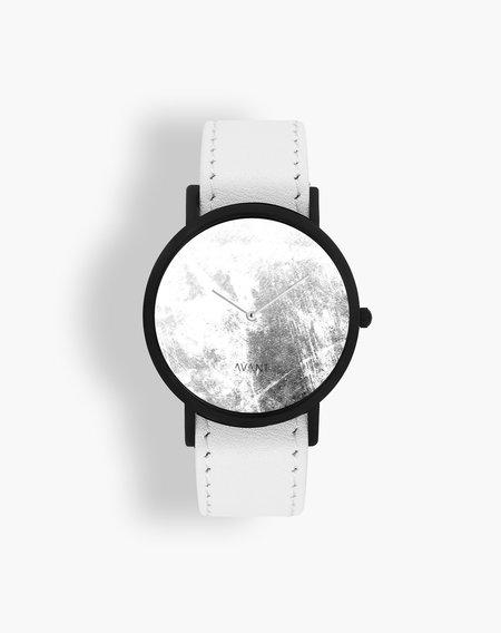 unisex SOUTH LANE Diffuse Invert Watch - White