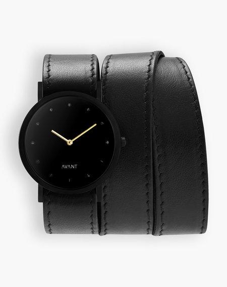 Unisex South Lane Avant Pure Watch - Triple Black