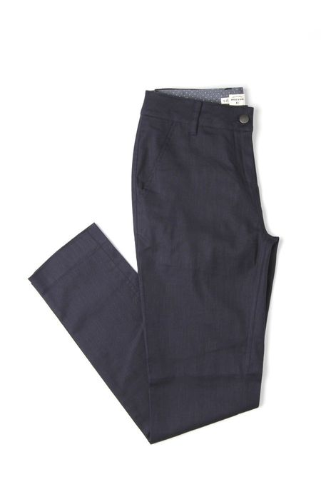 Bridge & Burn Market in Navy Linen
