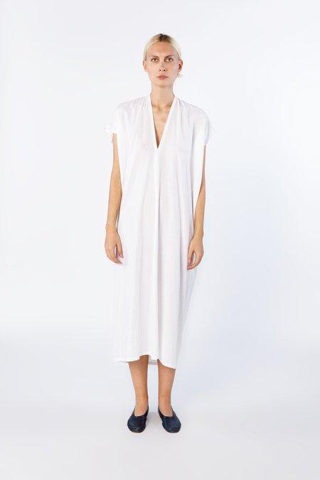 Miranda Bennett Oversized Cotton Everyday Dress - White