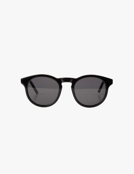 A.D.S.R. Larkin Sunglasses - Shiny Black