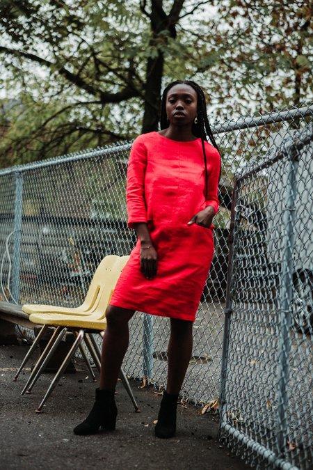Valérie Dumaine Topaz Dress - Red