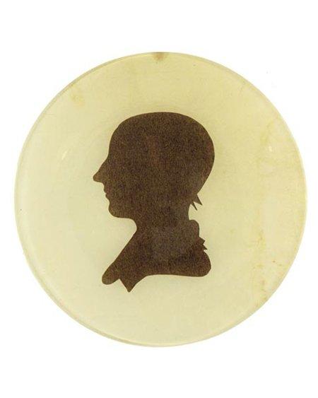 John Derian Emma Silhouette Plate