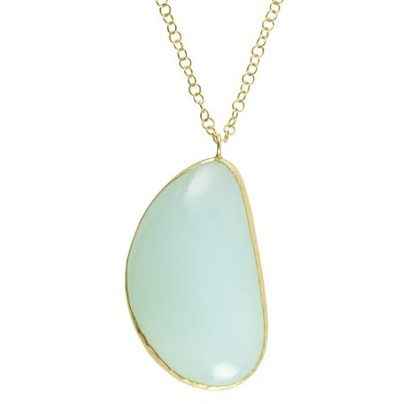 Pippa Small Necklace - Large Ecuadorian Opal