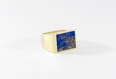 Legier Lapis Lazuli Stone Signet Ring