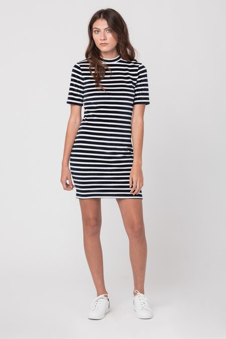 T by Alexander Wang Mock Neck Dress