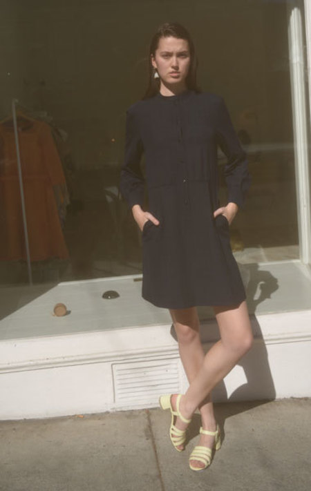 A.P.C. Audrey Dress - Navy
