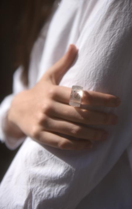Kathleen Whitaker Lodolite Ring - Size 6.25
