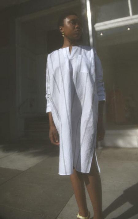 Ter et Bantine Striped Cotton Kaftan