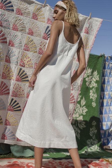 Carleen Charlotte Midi Dress - White