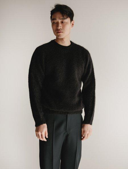 James Coward Mohair Sweater Black