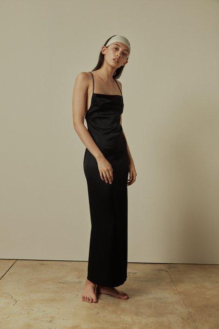GEORGIA PARIS Phoebe Slip Dress - black