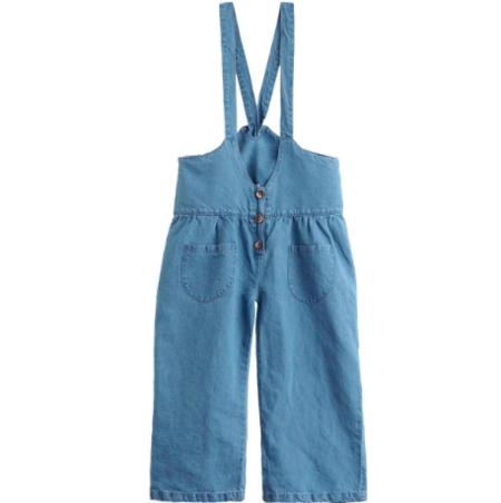 Kids Tocoto Vintage Denim Overalls