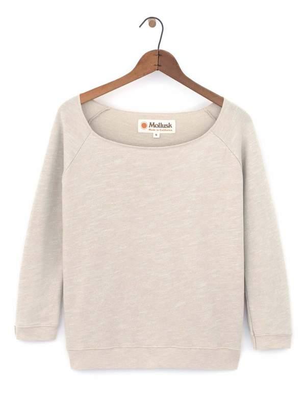 Mollusk Brigitte Sweatshirt - Natural