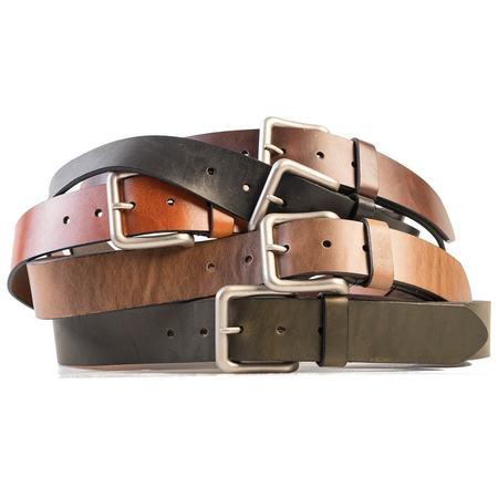 HELM Wide Belt - Silver Buckle
