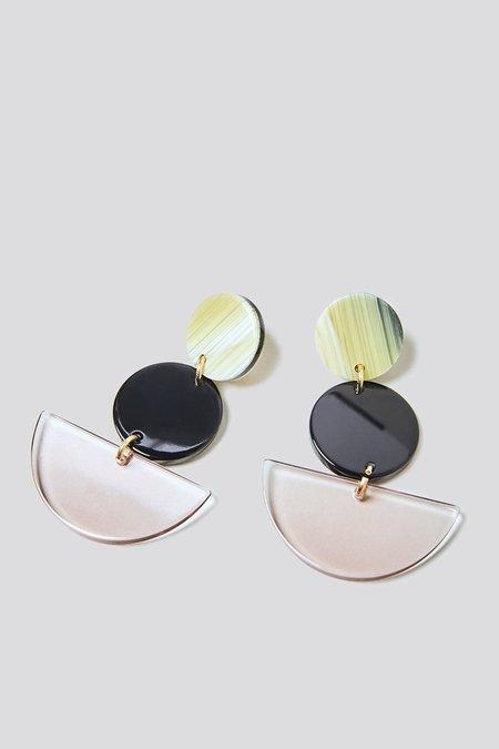 Rachel Comey Neale Earrings - Shell Clear