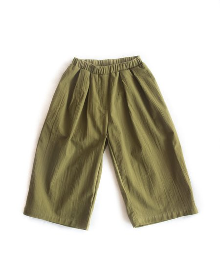 Kids Telegraph Ave Culotte - Cyprus Green