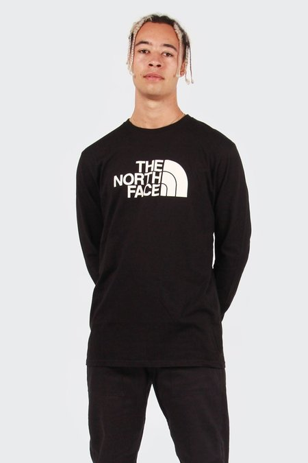 The North Face Half Dome Long Sleeve T-shirt -  Black