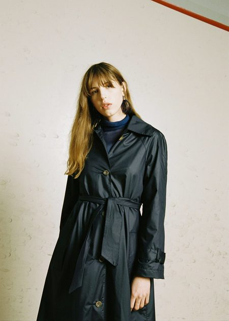 Penny Sage Sunshower Trench - Navy