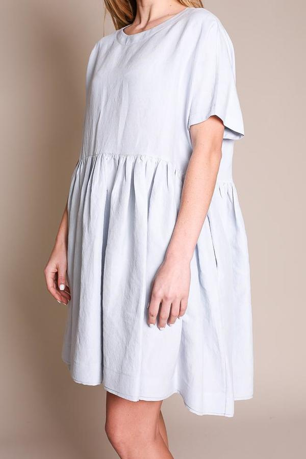 Creatures of Comfort Rhys Dress in Illusion Blue