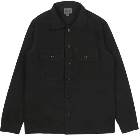 Naked & Famous Work Shirt - Black