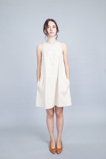 Ursa Minor Clare Dress - Ivory