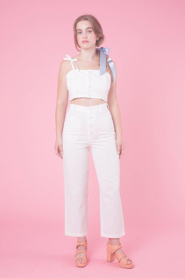 Samantha Pleet Chorus Pants - White