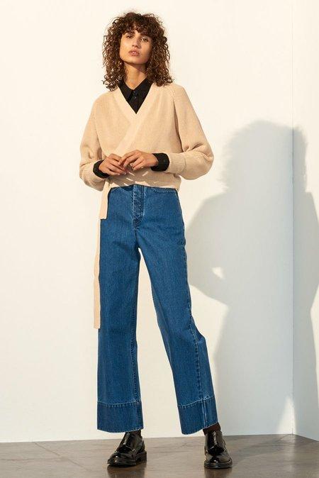 Kowtow Composure Cardigan in Natural