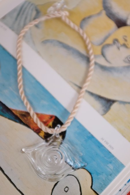 Maryam Nassir Zadeh Evil Eye Necklace Glass
