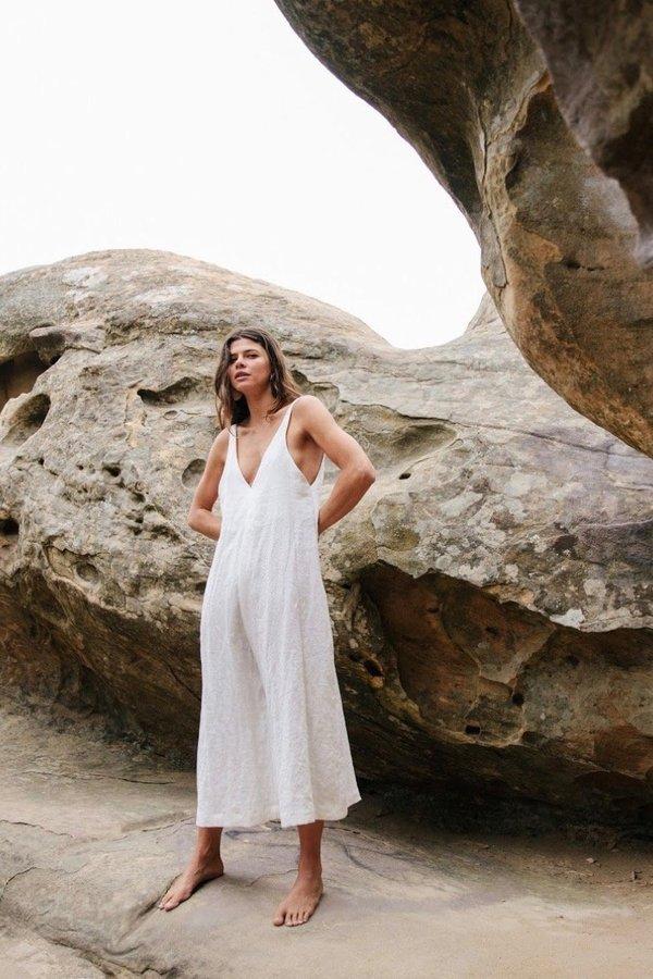 Ozma Vanessa Romper in Natural