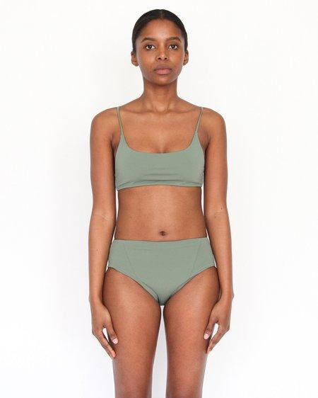 Esby Swim Carla Tank Bralette - Seaweed