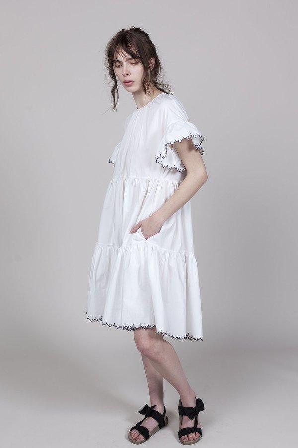 Ulla Johnson Rosemarie Dress - Blanc