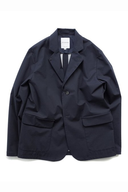 Still By Hand Bonded Blazer - Navy