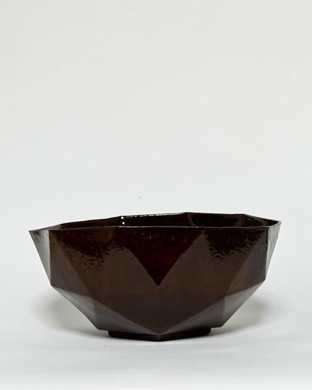 Kelly Lamb Black Porcelain Serving Bowl
